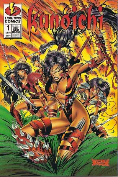 Kunochi comic books