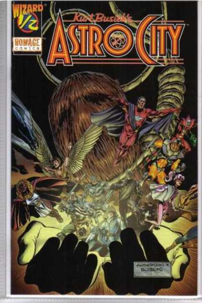 Kurt Busiek's Astro City #0 comic books for sale