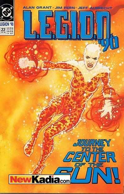 L.E.G.I.O.N. #22 comic books - cover scans photos L.E.G.I.O.N. #22 comic books - covers, picture gallery