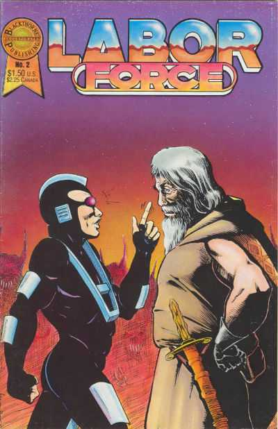 Labor Force #2 comic books - cover scans photos Labor Force #2 comic books - covers, picture gallery