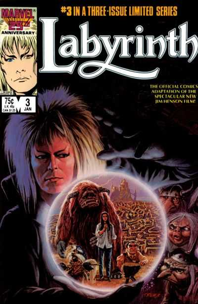 Labyrinth #3 Comic Books - Covers, Scans, Photos  in Labyrinth Comic Books - Covers, Scans, Gallery