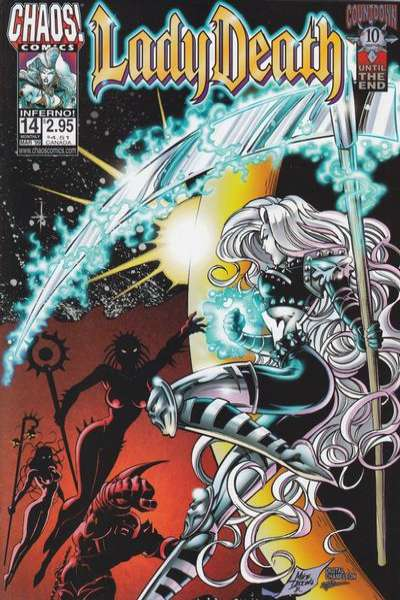 Lady Death #14 Comic Books - Covers, Scans, Photos  in Lady Death Comic Books - Covers, Scans, Gallery