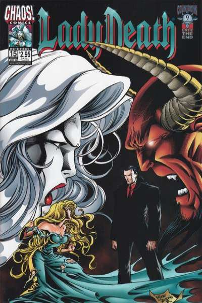 Lady Death #15 Comic Books - Covers, Scans, Photos  in Lady Death Comic Books - Covers, Scans, Gallery
