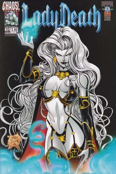 Lady Death #16 Comic Books - Covers, Scans, Photos  in Lady Death Comic Books - Covers, Scans, Gallery