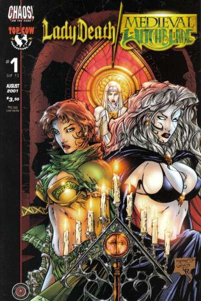 Lady Death #1 comic books - cover scans photos Lady Death #1 comic books - covers, picture gallery