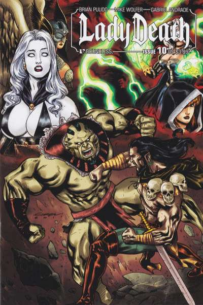 Lady Death #10 Comic Books - Covers, Scans, Photos  in Lady Death Comic Books - Covers, Scans, Gallery