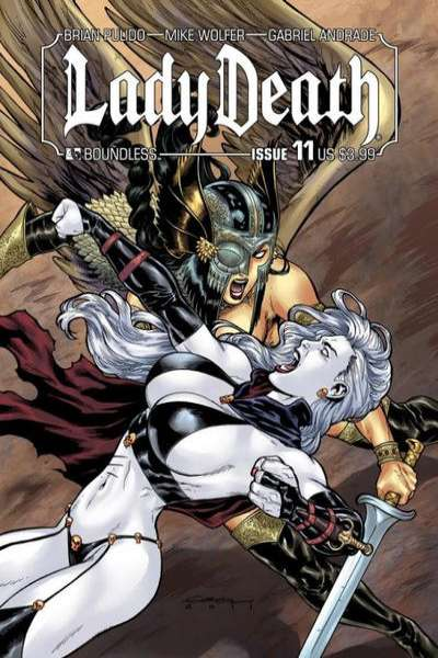 Lady Death #11 Comic Books - Covers, Scans, Photos  in Lady Death Comic Books - Covers, Scans, Gallery