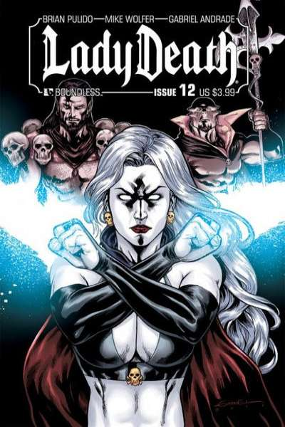 Lady Death #12 Comic Books - Covers, Scans, Photos  in Lady Death Comic Books - Covers, Scans, Gallery