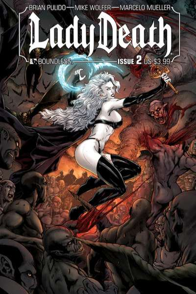 Lady Death #2 Comic Books - Covers, Scans, Photos  in Lady Death Comic Books - Covers, Scans, Gallery