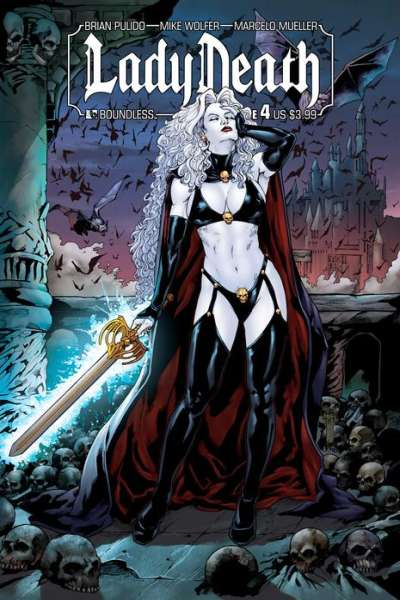 Lady Death #4 Comic Books - Covers, Scans, Photos  in Lady Death Comic Books - Covers, Scans, Gallery