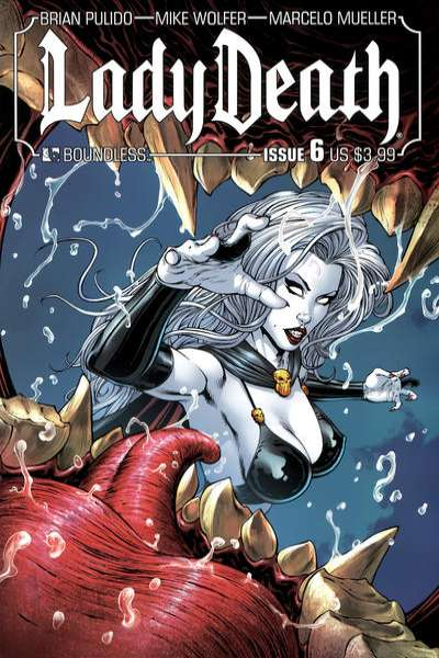 Lady Death #6 Comic Books - Covers, Scans, Photos  in Lady Death Comic Books - Covers, Scans, Gallery