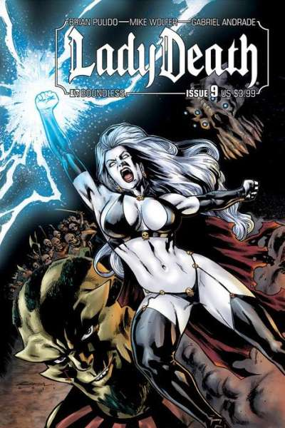 Lady Death #9 Comic Books - Covers, Scans, Photos  in Lady Death Comic Books - Covers, Scans, Gallery