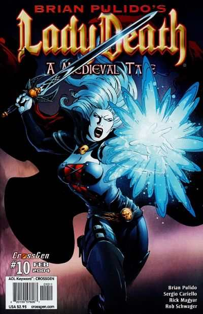 Lady Death: A Medieval Tale #10 Comic Books - Covers, Scans, Photos  in Lady Death: A Medieval Tale Comic Books - Covers, Scans, Gallery