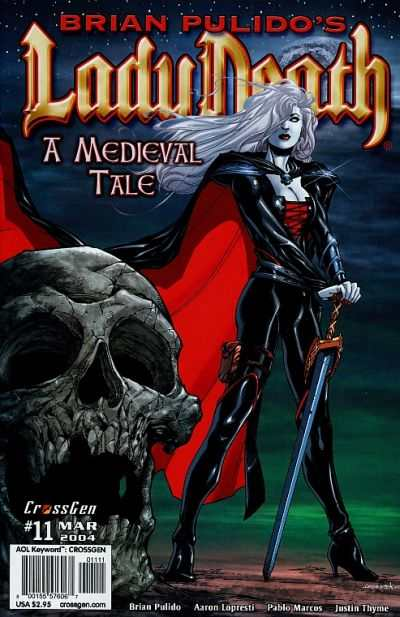 Lady Death: A Medieval Tale #11 comic books - cover scans photos Lady Death: A Medieval Tale #11 comic books - covers, picture gallery