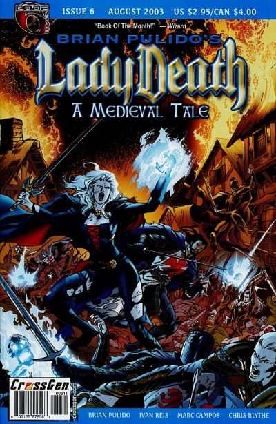 Lady Death: A Medieval Tale #6 comic books - cover scans photos Lady Death: A Medieval Tale #6 comic books - covers, picture gallery