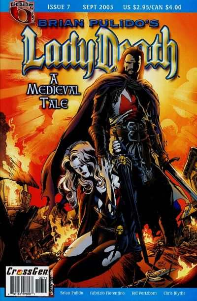 Lady Death: A Medieval Tale #7 comic books for sale