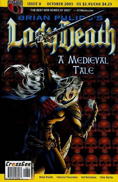 Lady Death: A Medieval Tale #8 comic books - cover scans photos Lady Death: A Medieval Tale #8 comic books - covers, picture gallery