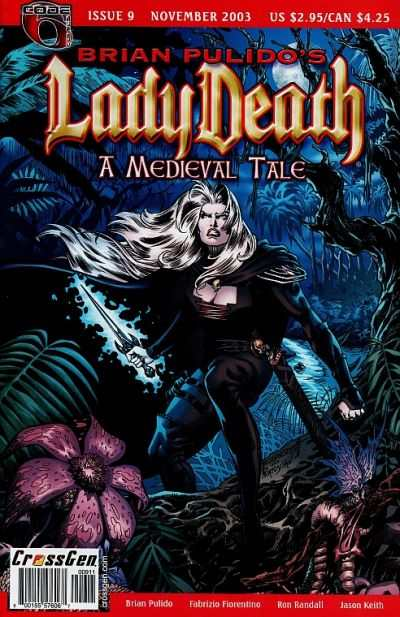 Lady Death: A Medieval Tale #9 Comic Books - Covers, Scans, Photos  in Lady Death: A Medieval Tale Comic Books - Covers, Scans, Gallery