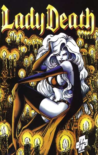 Lady Death II: Between Heaven & Hell #2 comic books - cover scans photos Lady Death II: Between Heaven & Hell #2 comic books - covers, picture gallery