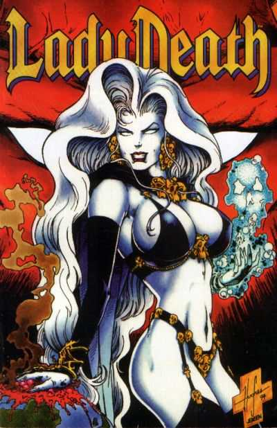 Lady Death II: Between Heaven & Hell #4 comic books - cover scans photos Lady Death II: Between Heaven & Hell #4 comic books - covers, picture gallery