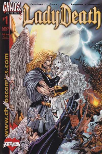 Lady Death: Love Bites comic books