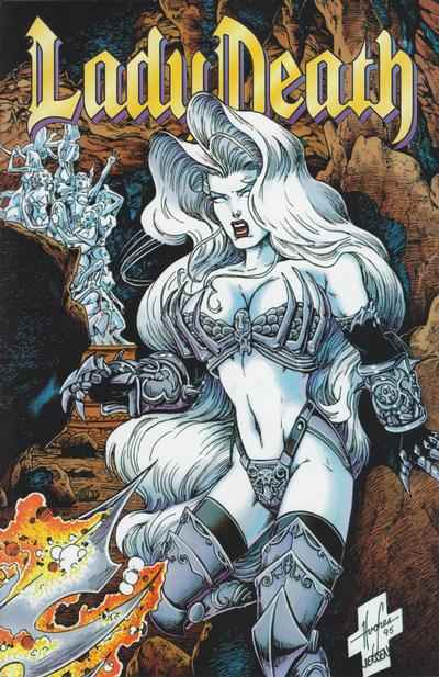 Lady Death: The Odyssey #2 Comic Books - Covers, Scans, Photos  in Lady Death: The Odyssey Comic Books - Covers, Scans, Gallery