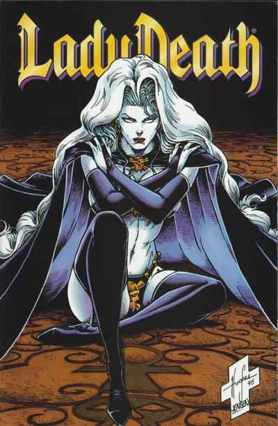 Lady Death: The Odyssey #3 comic books - cover scans photos Lady Death: The Odyssey #3 comic books - covers, picture gallery