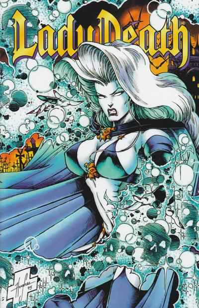 Lady Death: The Odyssey #4 comic books - cover scans photos Lady Death: The Odyssey #4 comic books - covers, picture gallery