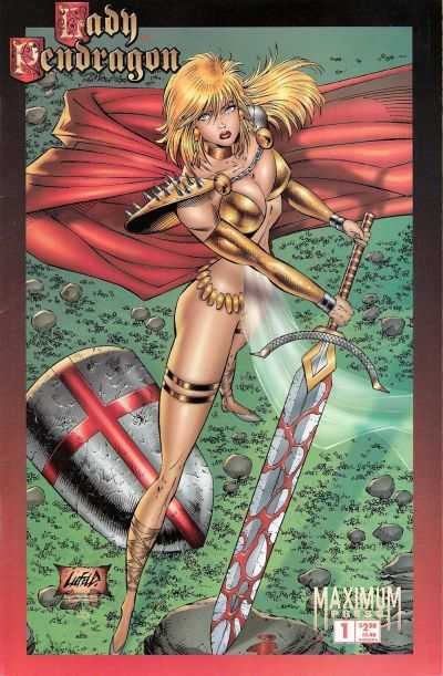 Lady Pendragon #1 comic books - cover scans photos Lady Pendragon #1 comic books - covers, picture gallery
