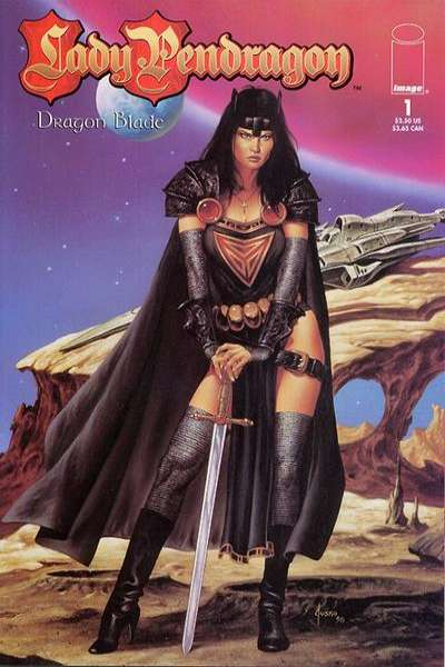 Lady Pendragon: Dragon Blade comic books