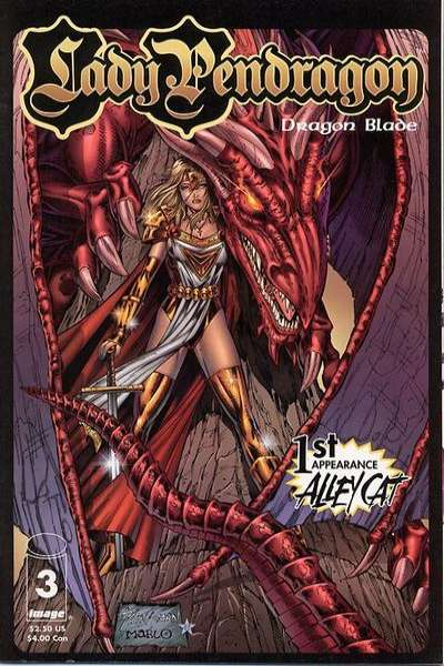 Lady Pendragon: Dragon Blade #3 comic books for sale