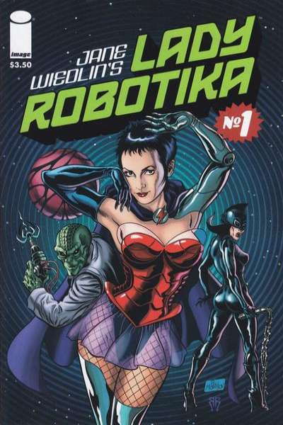 Lady Robotika comic books