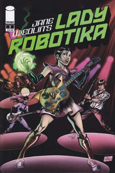 Lady Robotika #2 comic books - cover scans photos Lady Robotika #2 comic books - covers, picture gallery