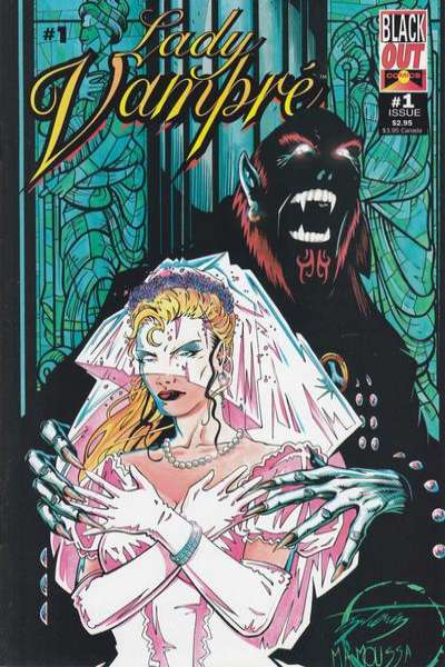 Lady Vampre #1 comic books for sale