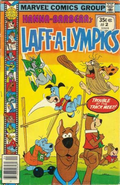 Laff-A-Lympics #2 Comic Books - Covers, Scans, Photos  in Laff-A-Lympics Comic Books - Covers, Scans, Gallery