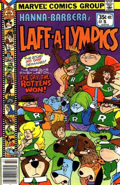 Laff-A-Lympics #5 comic books - cover scans photos Laff-A-Lympics #5 comic books - covers, picture gallery