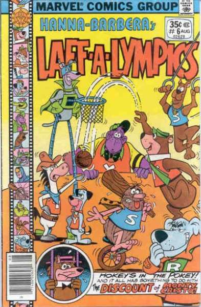 Laff-A-Lympics #6 Comic Books - Covers, Scans, Photos  in Laff-A-Lympics Comic Books - Covers, Scans, Gallery