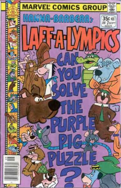 Laff-A-Lympics #7 Comic Books - Covers, Scans, Photos  in Laff-A-Lympics Comic Books - Covers, Scans, Gallery
