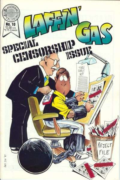 Laffin' Gas #10 Comic Books - Covers, Scans, Photos  in Laffin' Gas Comic Books - Covers, Scans, Gallery