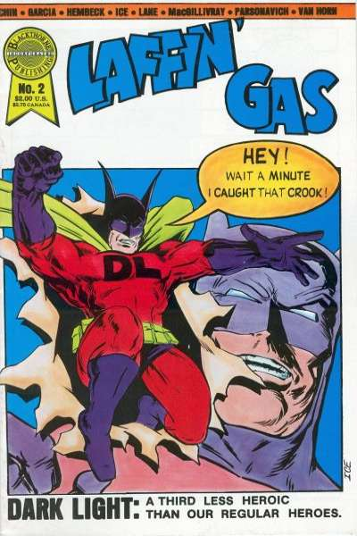 Laffin' Gas #2 comic books for sale