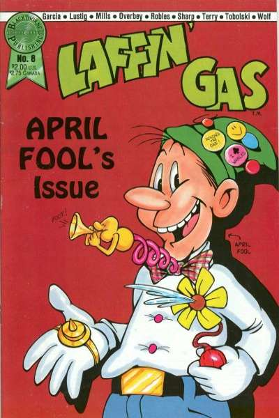 Laffin' Gas #8 comic books for sale