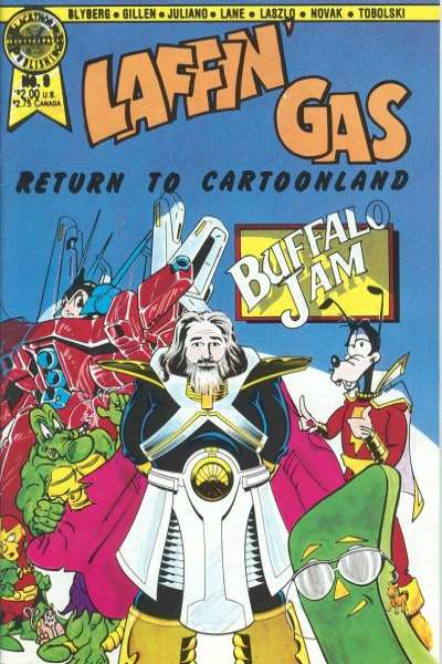 Laffin' Gas #9 comic books for sale
