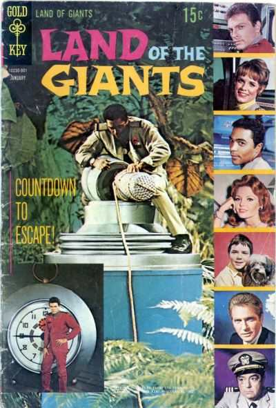 Land of the Giants #2 Comic Books - Covers, Scans, Photos  in Land of the Giants Comic Books - Covers, Scans, Gallery