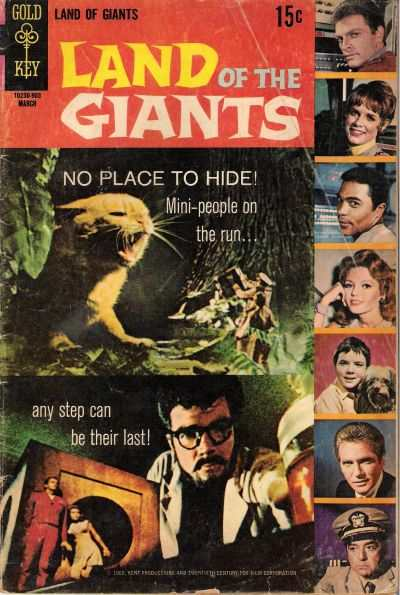 Land of the Giants #3 comic books - cover scans photos Land of the Giants #3 comic books - covers, picture gallery