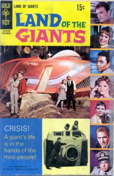 Land of the Giants #5 Comic Books - Covers, Scans, Photos  in Land of the Giants Comic Books - Covers, Scans, Gallery