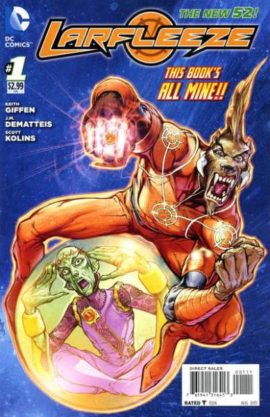 Larfleeze comic books