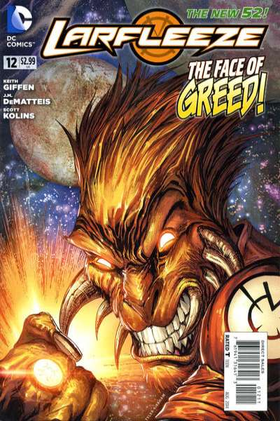 Larfleeze #12 comic books for sale