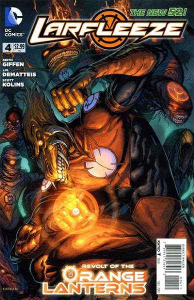 Larfleeze #4 comic books - cover scans photos Larfleeze #4 comic books - covers, picture gallery