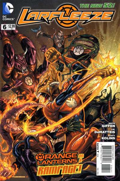 Larfleeze #6 comic books for sale