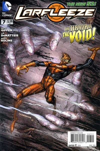 Larfleeze #7 Comic Books - Covers, Scans, Photos  in Larfleeze Comic Books - Covers, Scans, Gallery